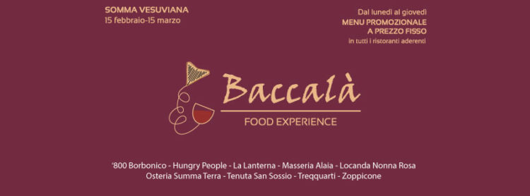 baccalà food experience