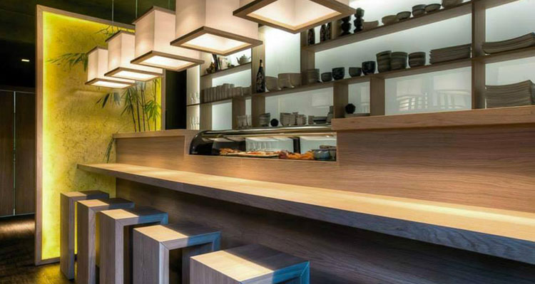apit, Il Sushi Counter